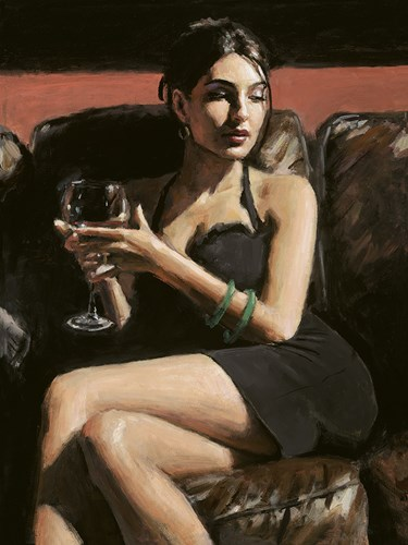 Image: ART00139313 (Tess on Leather Couch)